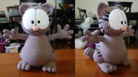 Garfield Crochet pattern from Etsy | Pattern, Crochet amigurumi ... | 152x270
